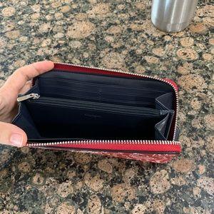 Coach Bags - Authentic Coach lace heart print accordion  wallet